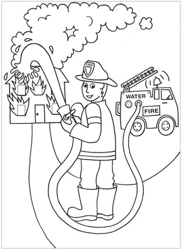 Coloring Pages :: Social Studies & Science