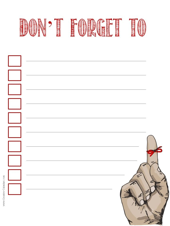 Best To Do List Images On   Free Printable Checklist