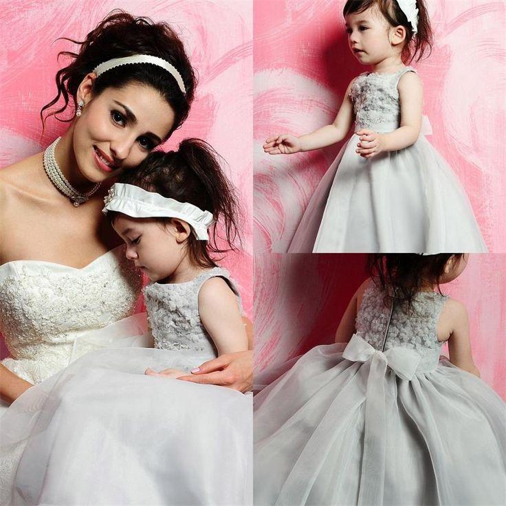 Flower Girl Dress White Clearance