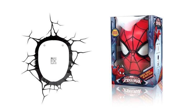 3-d man marvel   Accueil > Cadeau Geek > Lampe Murale 3D Marvel Spider-Man
