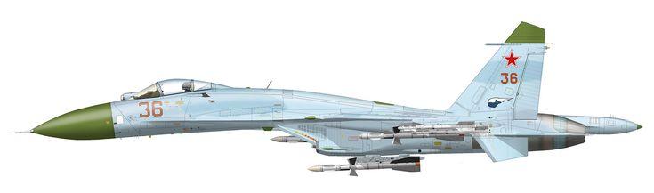 Su-27 Red 36 - Sukhoi Su-27 - Wikipedia, the free encyclopedia