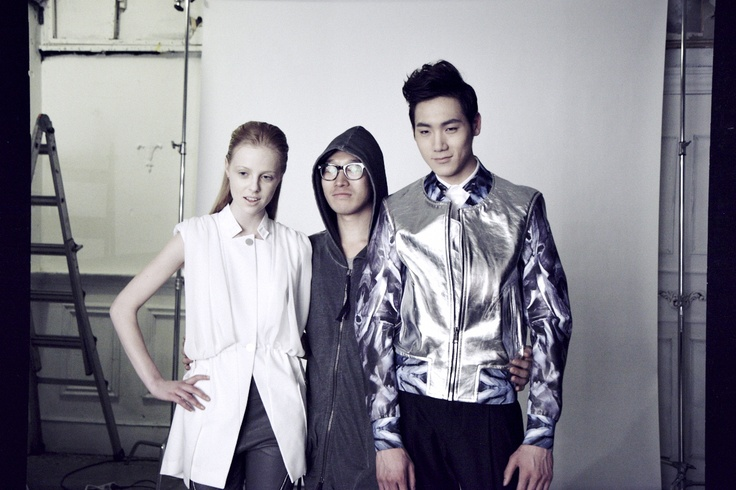 Shooting SS13 CRES E DIM collection by INKI KANG at studio BONE  www.cresedim.com  www.inkikang.com