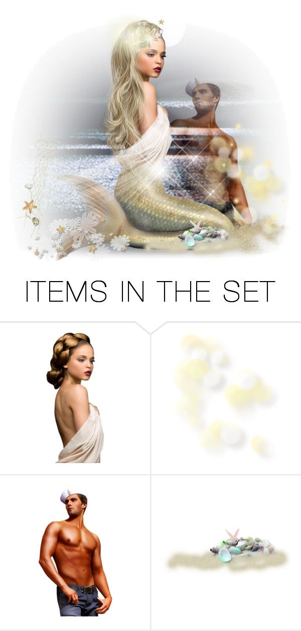 Mermaids Galore! by falticska-cerasella on Polyvore featuring arte