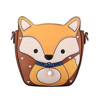 Cute Fox Type Cross Body Shoulder Bag – GBP £ 39.61