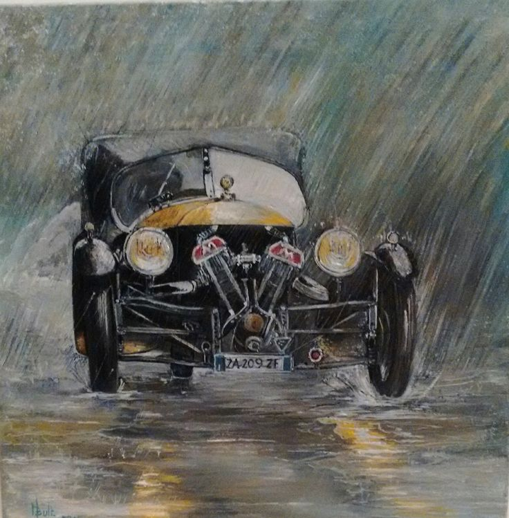 Morgan S S  Matchless . Singing in the rain.