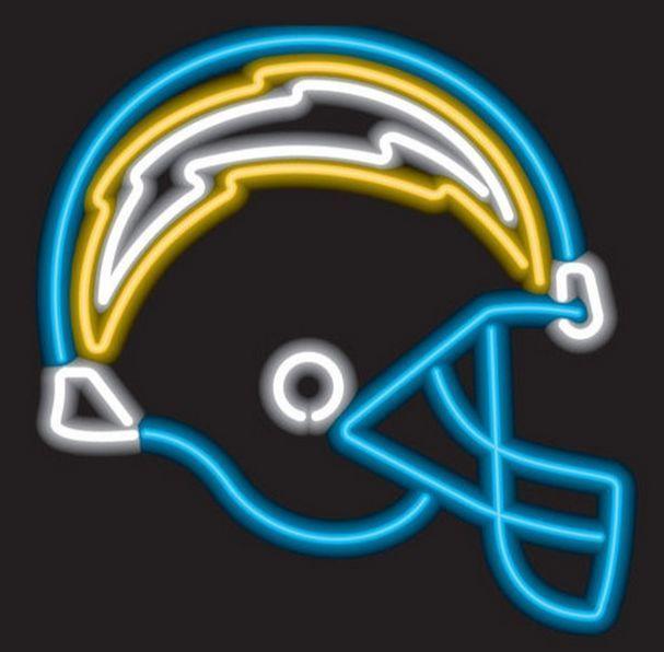 San Diego Chargers Neon Sign NFL Team Logo Football Fan Man Cave Sport Light #SanDiegoChargers