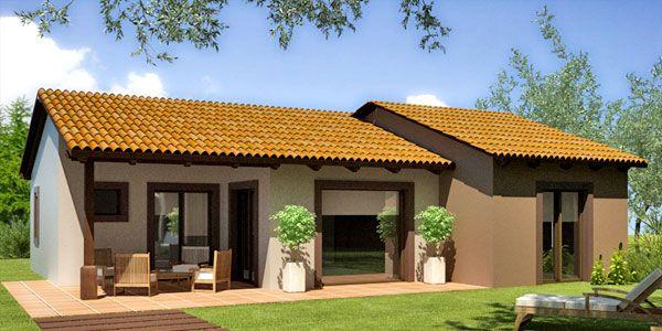 Casa prefabricada rústica