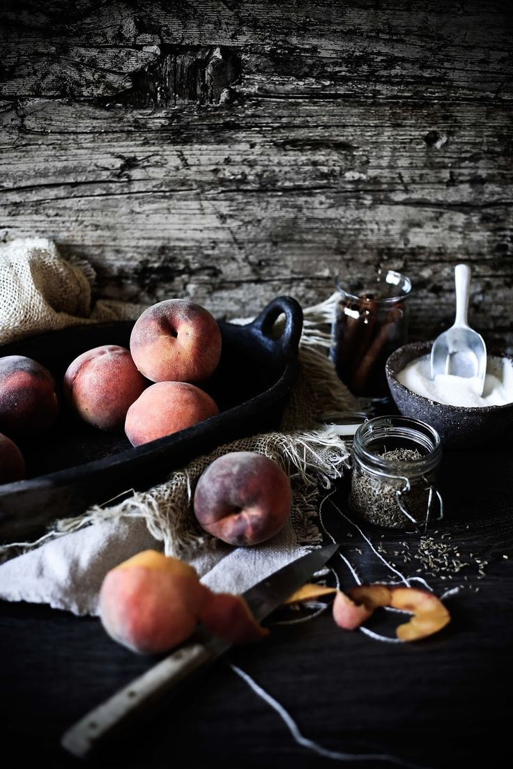 Peaches for jam - Pratos e Travessas | Food, photography and stories - Mónica Pinto