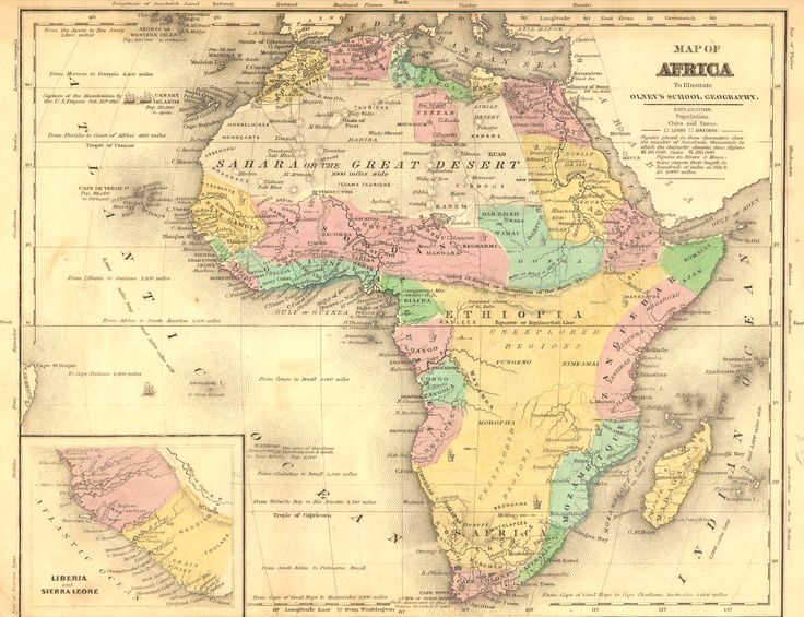 17 best Africa   old maps images on Pinterest | Africa map, Cards