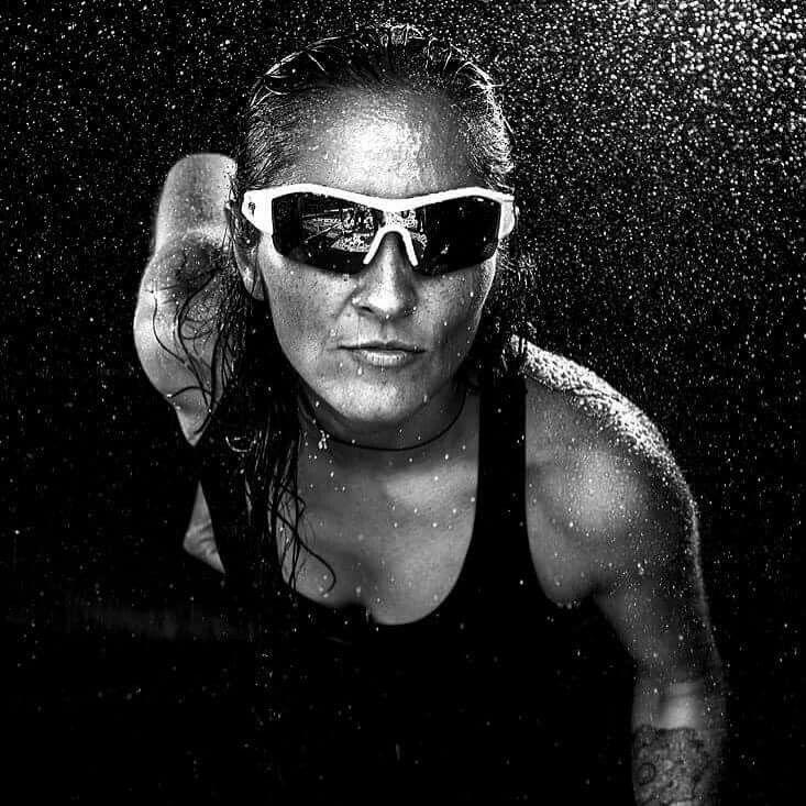 Mujer atleta fotografía