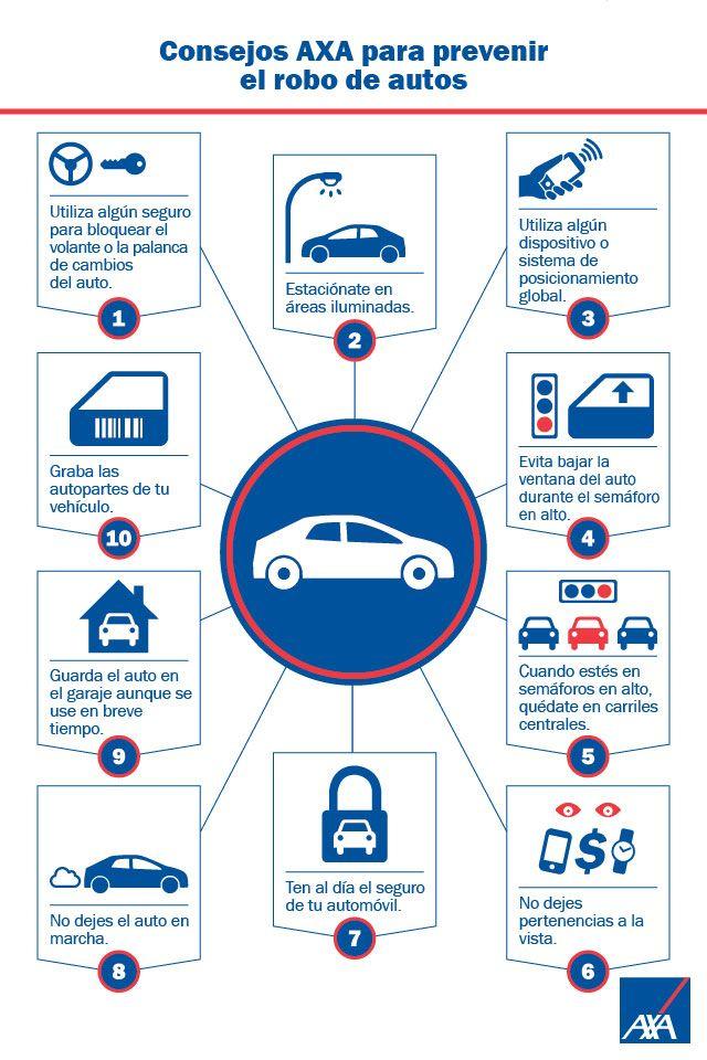 Consejos para prevenir el robo de tu auto en la ciudad. Nuestra pasión es cuidarte.