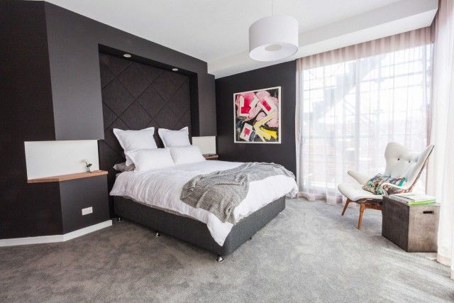 Steve and Chantelle take out second place in the Block master bedroom suite reveal #theblock