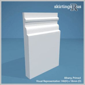 Albany MDF Skirting Board