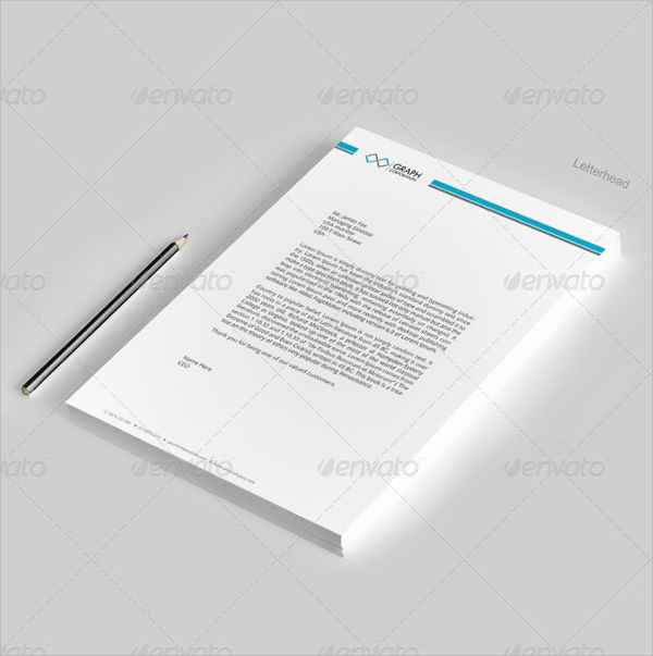 8 best letterhead images on Pinterest Brand design, Letterhead - letterhead format word