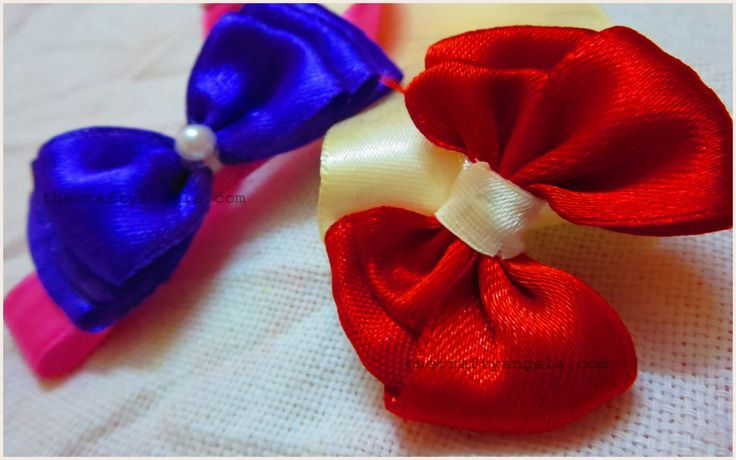 how to make your own bow hair accessories