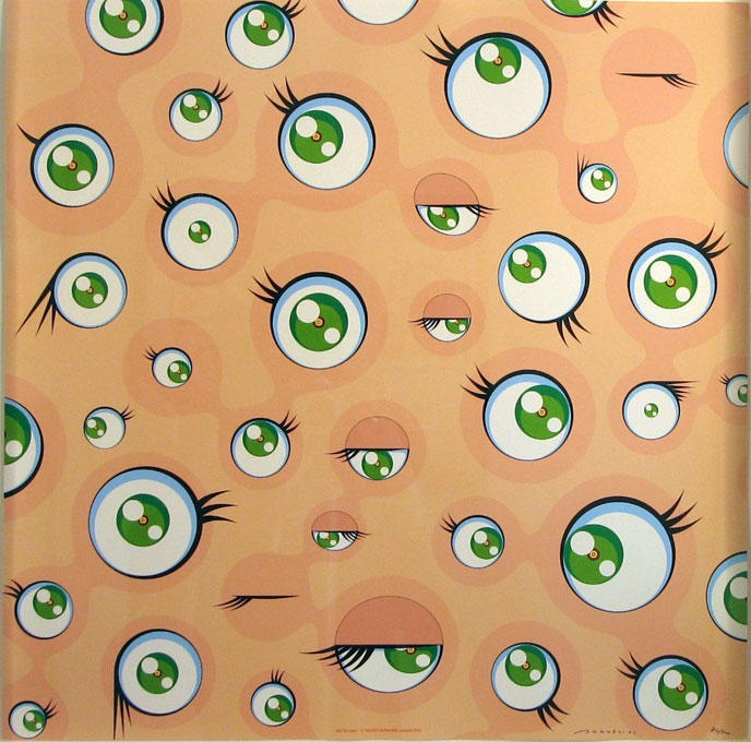 Takashi Murakami - Jellyfish Eyes