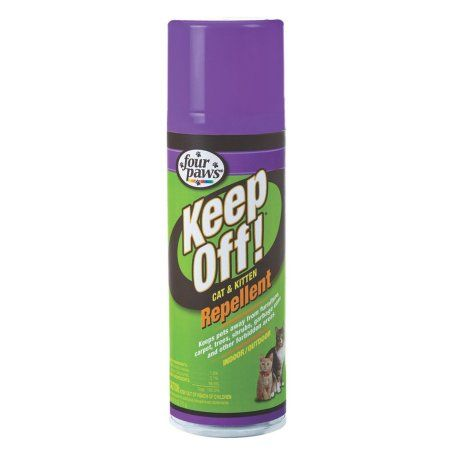 Four Paws Keep Off Indoor/Outdoor Cat Repellent