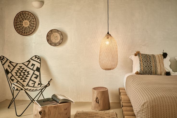 Naxian On The Beach by K-constructions Microcemento, Asvestos, Wood Boho style suite Photo: Drazos Christos