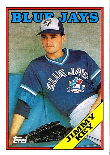 Jimmy Key played for the Chiefs for 16 games in 1983! Jimmy Key went on to be a four time all star! Key was a member of the Toronto Blue Jays when they won the World Series in 1992!
