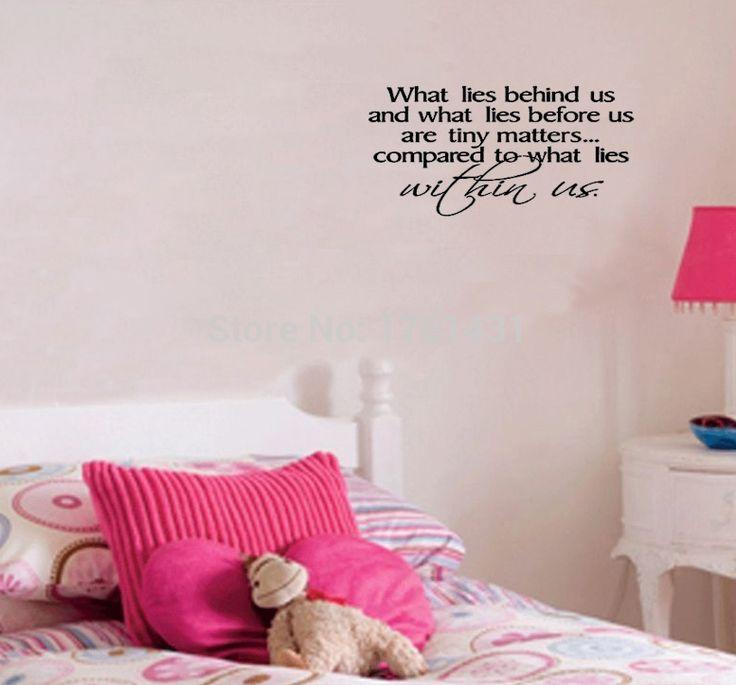 То, что Лежит Позади Нас И До Крошечные По Сравнению С Вопросами... наклейки для стен виниловые наклейки домашнего декора гостиной украшения