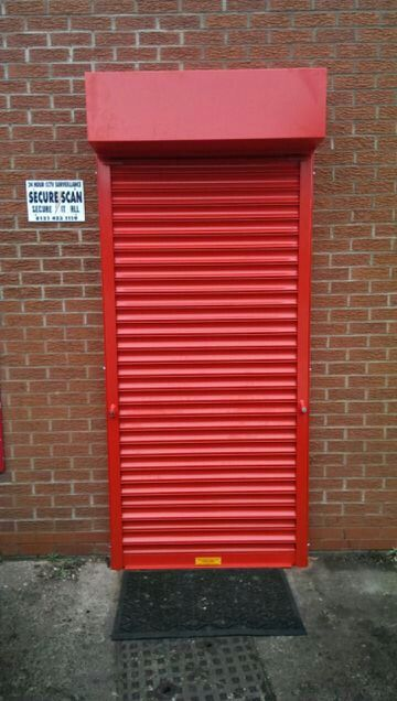 Security roller shutter to m.o.t centre. & 58 best Roller Doors images on Pinterest | Roller doors Carriage ...