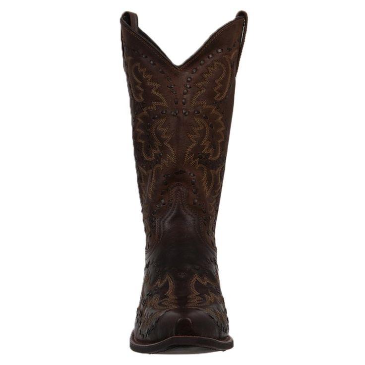 Laredo Men's Midnight Rider Cowboy Boots (Dark Brown)