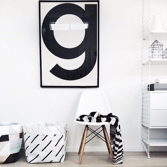 The Design Chaser for @homestylemag | Instagram Playtype G Poster Giveaway