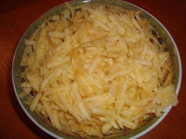 prajitura cu mere si iaurt