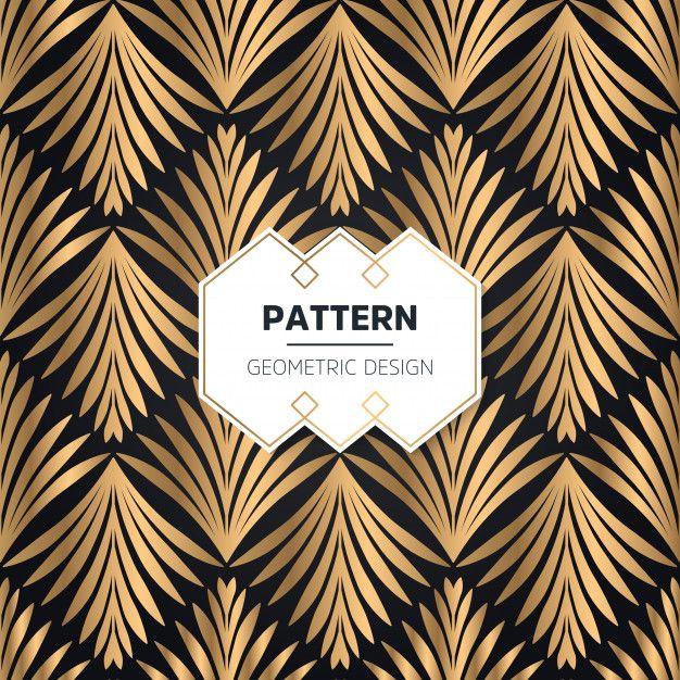 Download Art Deco Seamless Pattern For Free Motif Art Deco Papier Peint Art Nouveau Design Art Deco