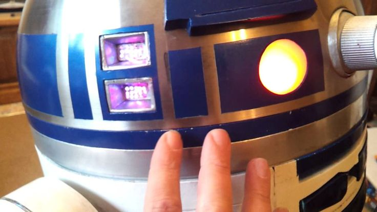 Autonomous R2 D2 Part 1 Building Body Dome Etc Walk