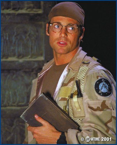 I love my star-traveling archaeologists. Or the men that play them? #michaelshanks