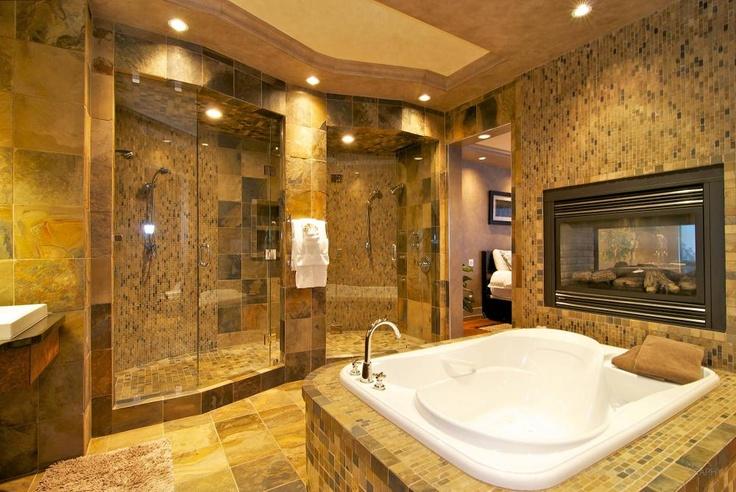Amazing master bath my dream home ideas pinterest for Amazing master bathroom designs