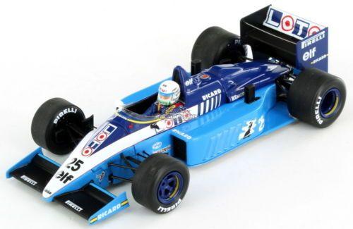 Ligier-JS27-Renault-Rene-Arnoux-British-GP-1986-1-43