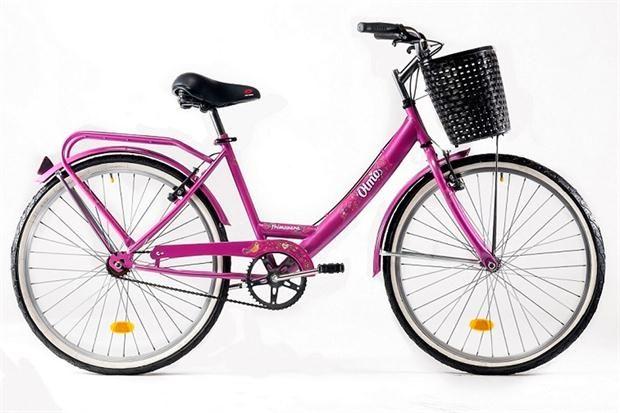15 elegidos en rosa  Bicicleta (Olmo, $2800).