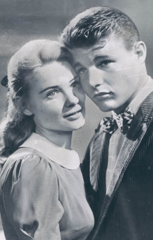 Hope Lange & David Nelson in Peyton Place