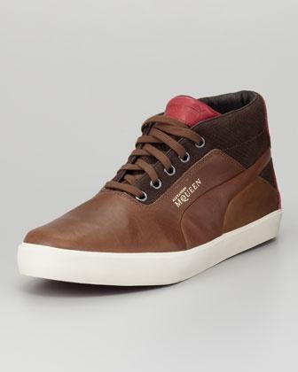 Alexander McQueen PUMA Deck High-Top Sneaker by Alexander McQueen PUMA