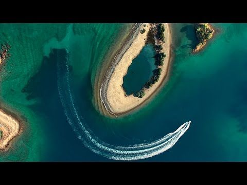 Turkey's Turquoise Coast from the Air - YouTube