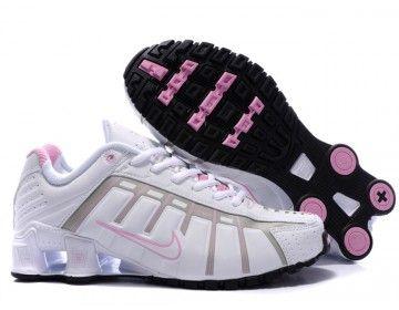Wholesale Nike Shox NZ O-leven Women White Pink Running Shoes