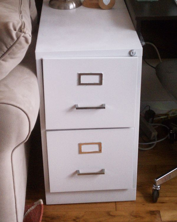 tape and clean it up though how to paint a metal filing cabinet. Black Bedroom Furniture Sets. Home Design Ideas