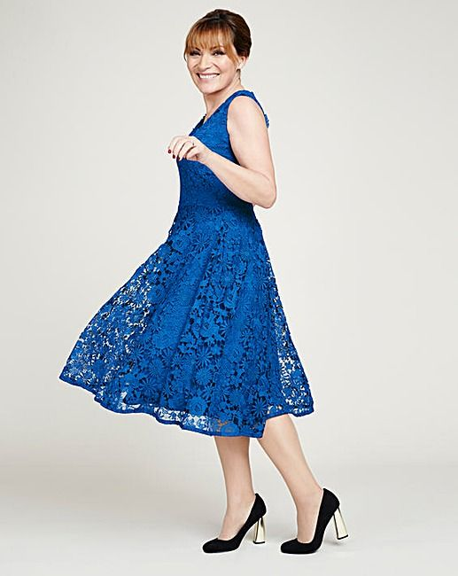 Lorraine Kelly Lace Dress   J D Williams