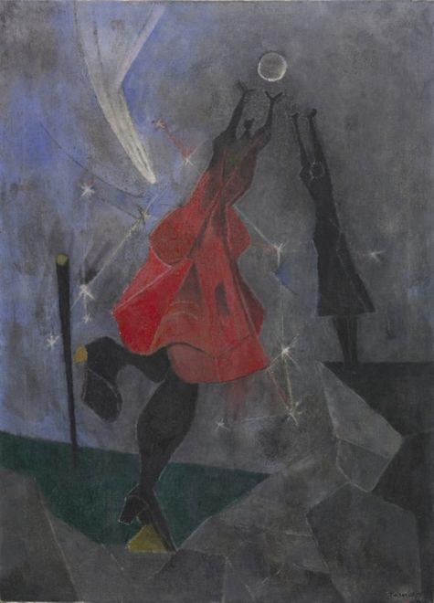 Woman reaching for the moon, Rufino Tamayo