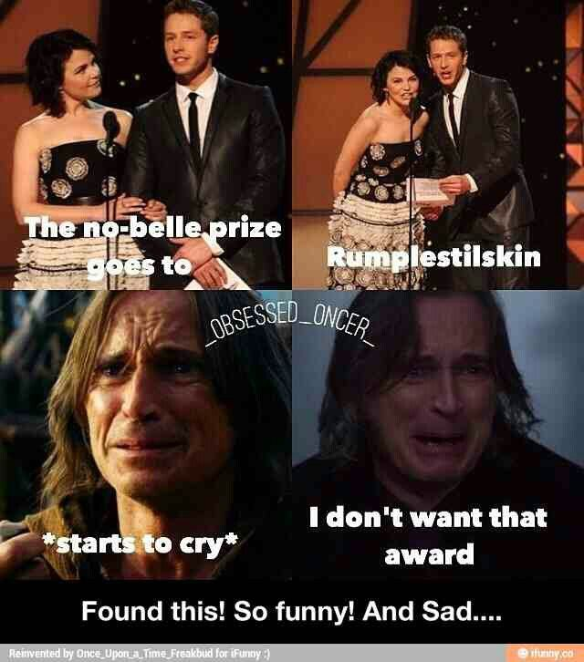 (((It's funny because he's an abusive lying asshole who doesn't deserve Belle in the SLIGHTEST SORRY BUT I FEEL STRONGLY ABOUT RUMBELLE NOT EXISTING)))