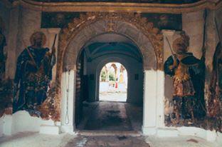Πύλη της Ιεράς Μονής Εσφιγμένου / Gate of the Holy Monastery of Esphigmenou