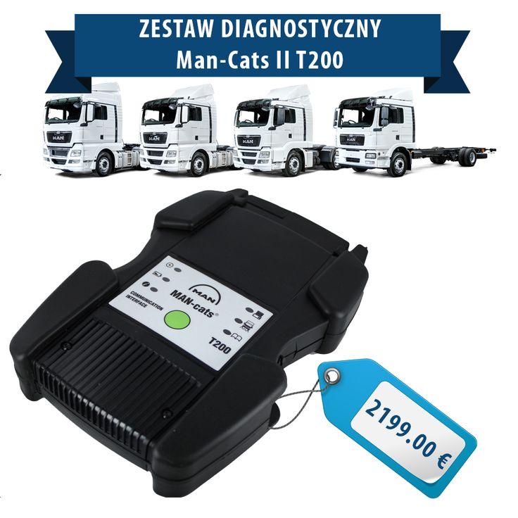 Zestaw diagnostyczny który z powodzeniem można używać zarówno w warsztacie jak i wziąć ze sobą w podróż pojazdem? MAN-CATS T200 spełnia te wymagania z nawiązką. To jedno z najbardziej zaawansowanych narzędzi diagnostycznych dla pojazdów marki MAN dostępnych na rynku!  http://interdiag.pl/?product=man-cats-t200&lang=en  #man #diagnostyka #zestawdiagnostyczny #serwis #ciężarówki #narzędziadiagnostyczne  #naprawaciężarówek #pojazdyserwis