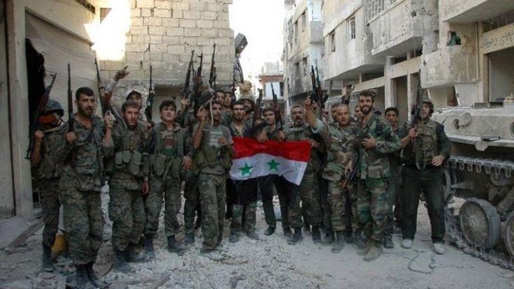 """Ο συριακός στρατός καταγγέλει το """"βρώμικο σχέδιο"""" των ΗΠΑ για τη Συρία"""