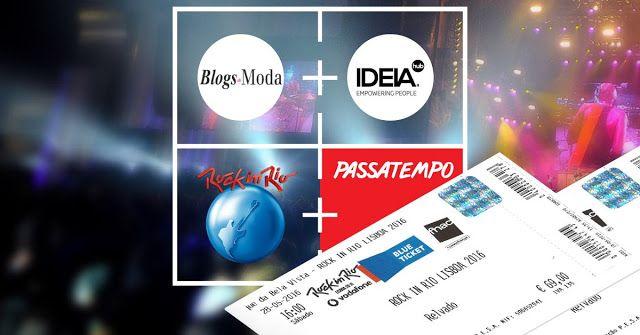 Amostras e Passatempos: Passatempo Passatempo Rock in Rio by Blogs de Moda...