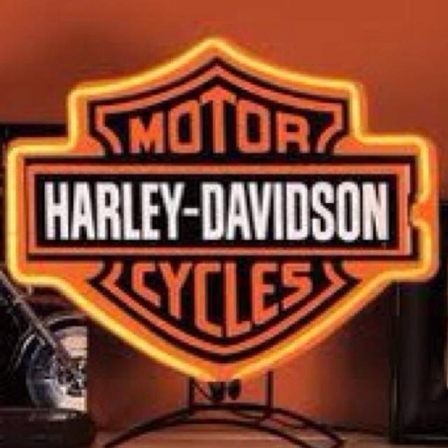Harley Davidson~Table Lamp