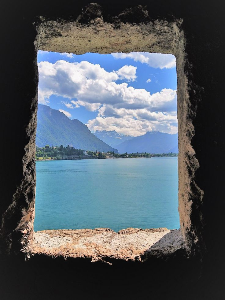 Castle Chillon, a medieval dungeon with a fabulous view!