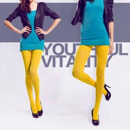 Yellow Stockings Tights