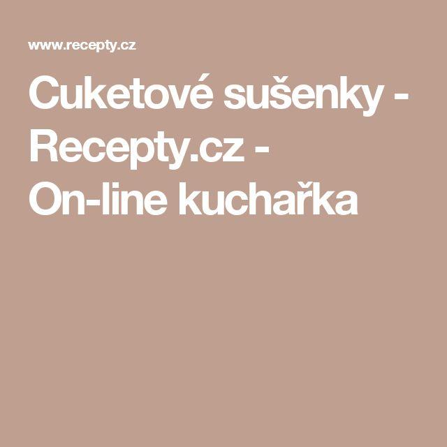 Cuketové sušenky - Recepty.cz - On-line kuchařka